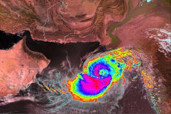 خبرنگاران هیچ طوفان حاره ای در نزدیکی سواحل سیستان و بلوچستان فعال نیست
