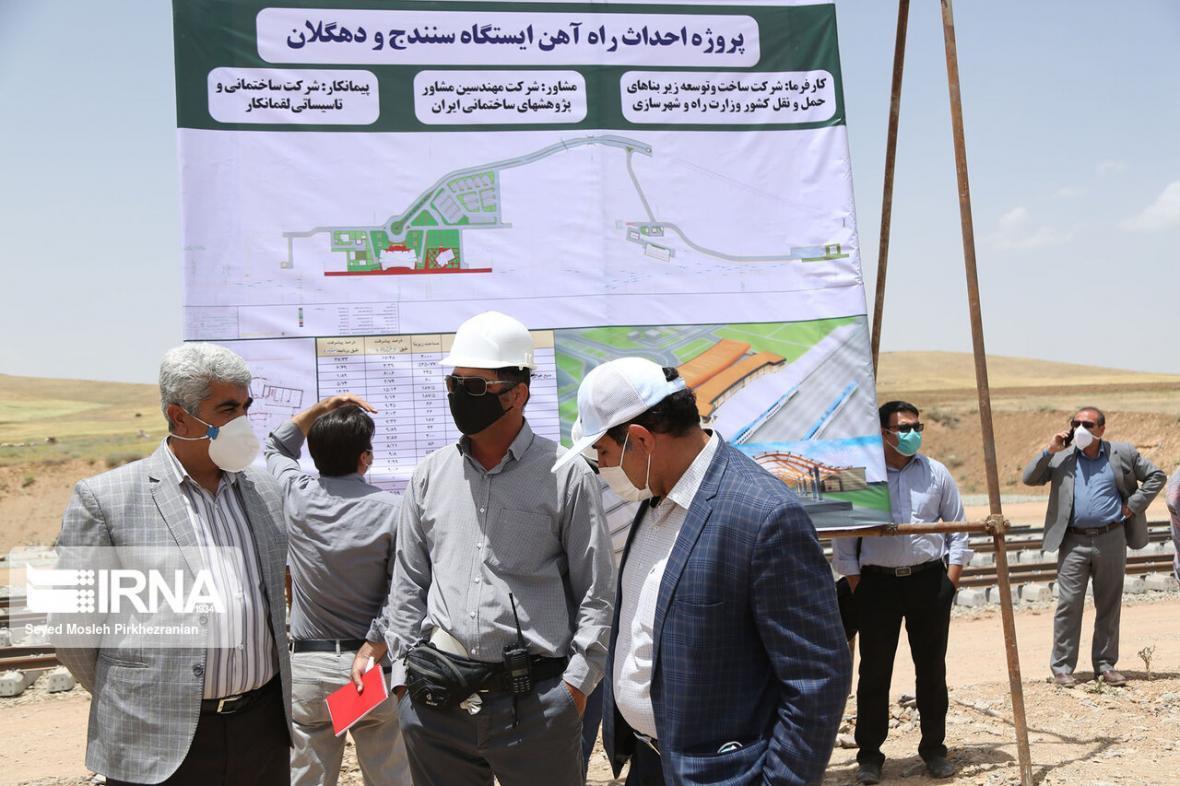 خبرنگاران 350 میلیارد تومان به طرح راه آهن همدان-سنندج اختصاص یافت