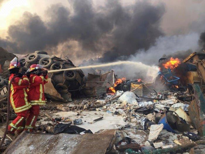 دلیل انفجار بیروت معین شد