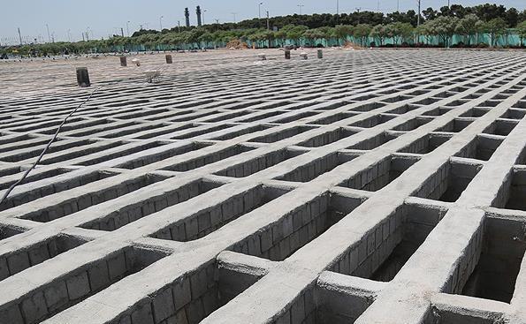 تورم در شهر مردگان، قبر متری چند؟