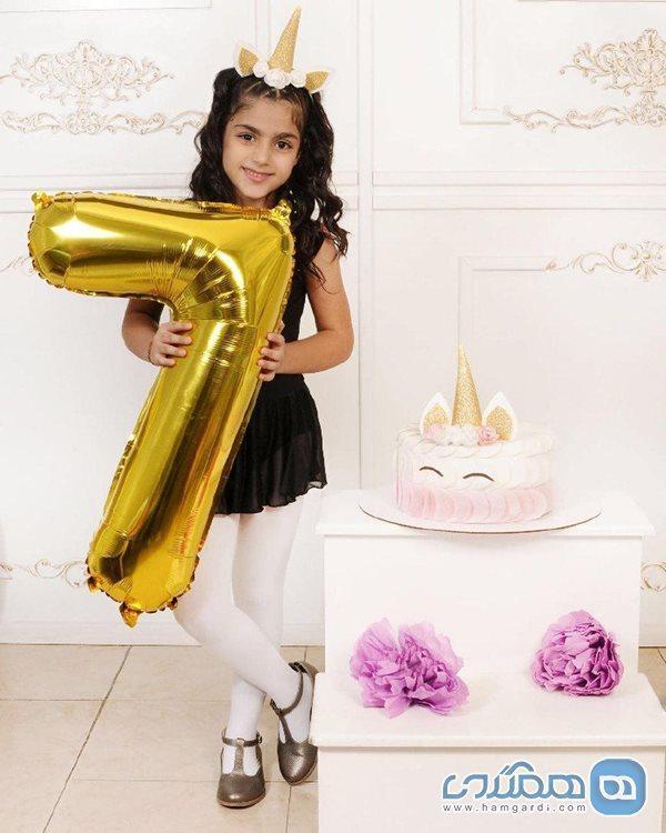 جشن تولد تنها عشق و دلیل زندگی آرزو افشار