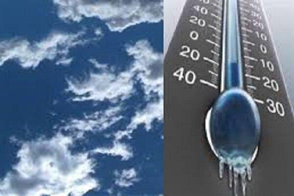 نفوذ جریانات خنک شمالی به استان های شمالی، کاهش نسبی دما