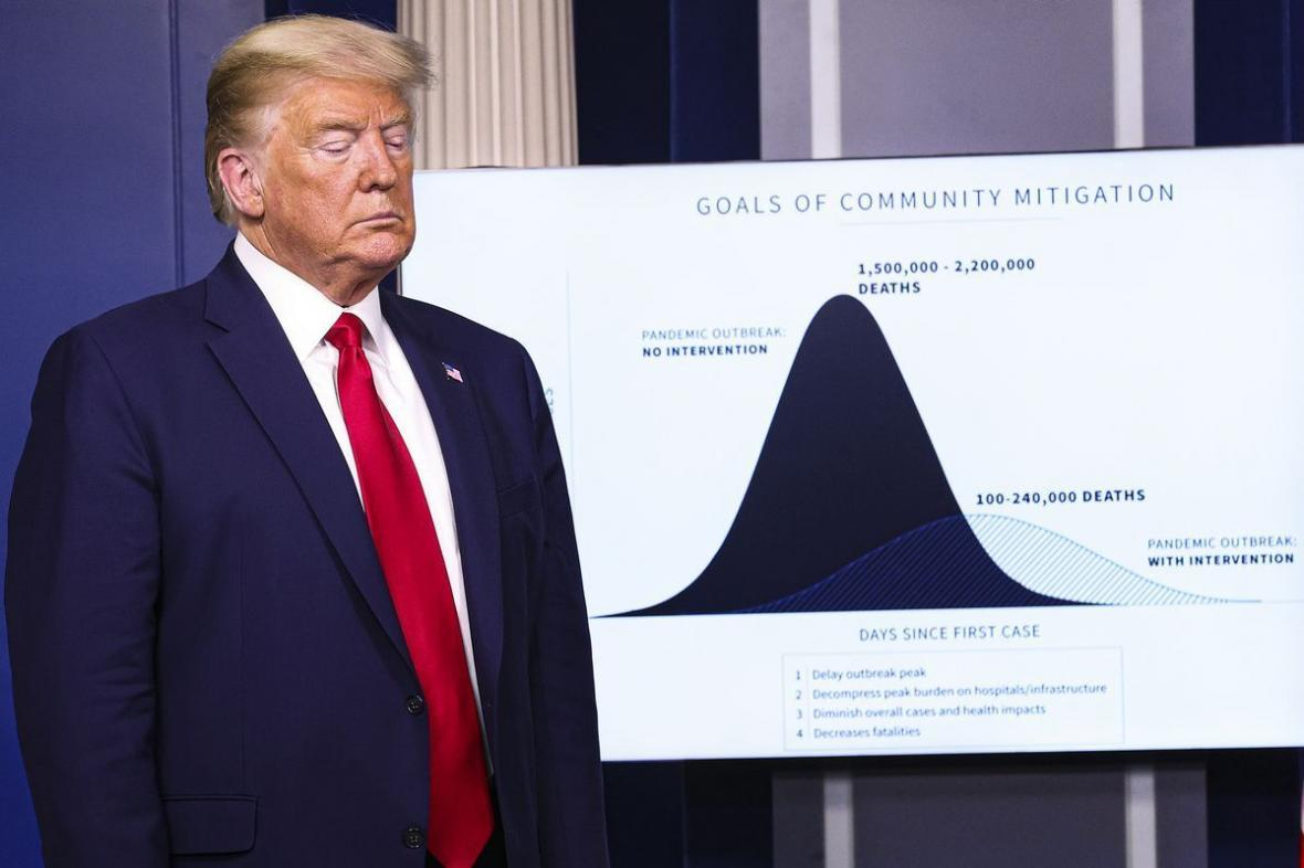 خبرنگاران نشریه آمریکایی: ترامپ نتیجه آزمایش اول کرونای خود را پنهان کرد