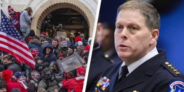 رئیس نیروی پلیس کنگره آمریکا استعفا می دهد